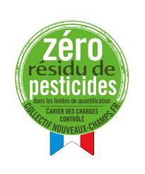 logo zéro résidu de pesticides
